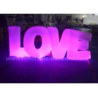 Valentineu0027S Day Decorative Inflatable Lighting Balloon Colorful Love Letters Shaped & Wholesale Inflatable Lighting Balloon from Inflatable Lighting ...