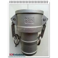 Wholesale hot sale high quality low price 316 stainless steel camlock fitting type C from china suppliers