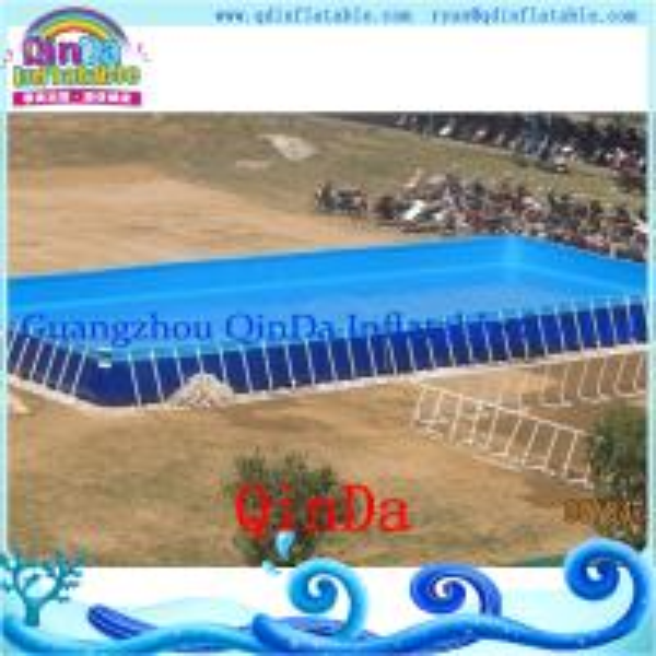 Above Ground Steel Metal Frame Swimming Pool Pvc Frame Pool Of Item 105773206
