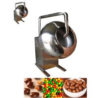 Quality Electrical Heater Small Chocolate Coating Pan Machine 12 Month Warranty for sale