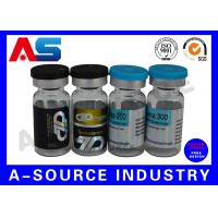 Buy cheap Holographic 10ml Vial Labels Prescription Vial Label Printing 4C Full Color from wholesalers