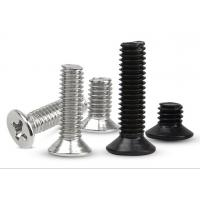 Wholesale M4 M6 7mm 8mm Phillips Steel Slotted Flat Head Machine Screw Countersunk 10 - 32 X 3/4 Inch from china suppliers