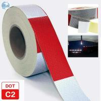 Wholesale Traffic Emergency DOT Reflective Tape , Dot Trailer Markings 2 Inch x 150 Feet Roll from china suppliers