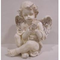Wholesale Charming Pink handpainting Angel Collectible Figurines sites for inspirational gifts from china suppliers