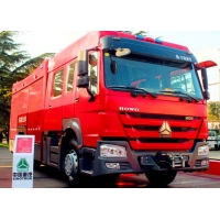 Wholesale Rescue Fire Truck 4x2 251hp - 350hp SINOTRUK HOWO Fire Fighter Truck 6m3 Water Tank from china suppliers