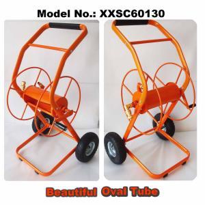 """Hose Reel Cart, Oval Tube Frame, 70M (230F) Length Capacity for 3/4"""" Hose"""
