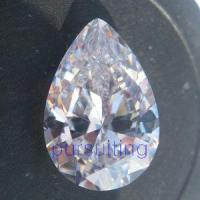 Quality CZ Stone Pear for sale