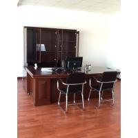 China Solid Wood Commercial Office Furniture Walnut Office Desk Environmental wholesale