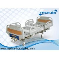 China Detachable Manual Hospital Bed ABS Head And Foot Board 3 Function wholesale