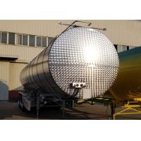 Wholesale Carbon Steel Insulated Tanker Trailers For Bitumen Transport 43000L Volume from china suppliers