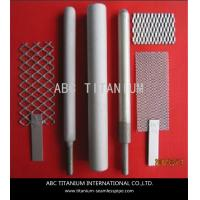 Wholesale gr1 pure titanium anode and cathode for chlor-alkali from china suppliers