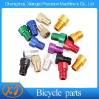 Wholesale High Quality 6061 T6 Aluminum Alloy Knurled Presta to Schrader Adapter from china suppliers