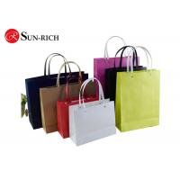 China Color Printed Paper Kraft Bags Brown Paper Gift bags SR-P-004 on sale