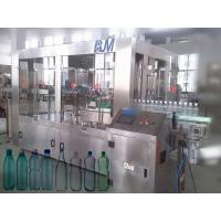 PE / PP bottle Automatic Water Filling Machine 3 in 1 rinser filler capper machine