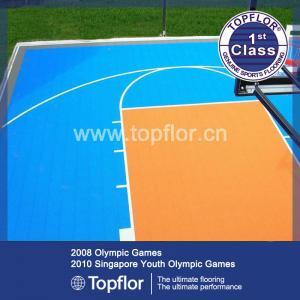 Multi-functional Modular Suspended Plastic Interlocking Sports Flooring