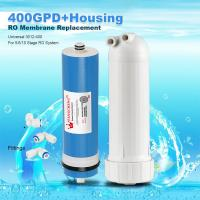 Wholesale 400GPD Umkehrosmose Wasser Filter Ersatz + Gehäuse RO Membran Universal HOT from china suppliers