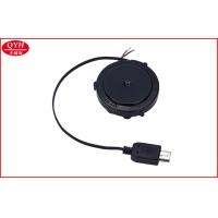 Wholesale Small Reels One Way Retractable Micro USB Cable Cut Open for mobiles Charging from china suppliers