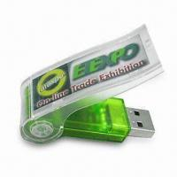 Wholesale USB Flash Drive, Available in Various Capacity, Colors and Logos, Supports Plug-and-play Function from china suppliers