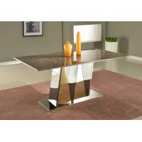 Marble Office Furniture ~ Luxury office furniture marble dining tables top