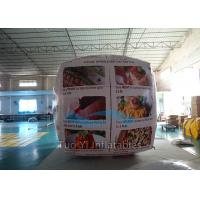 Wholesale Cube Balloon Inflatable Sphere Balls , Square Air Advertising Balloons from china suppliers
