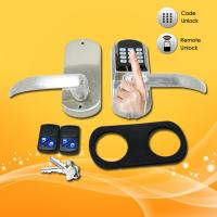Wholesale Easy Operated Electronic Keypad Door Lock With Fingerprint / Password Open from china suppliers
