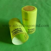 China PVC shrink capsules with tear strip for alcohol wholesale