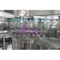 Wholesale 6000BPH Juice Filling Machine with back flow system with PLC sontrol from china suppliers