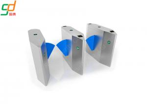 Wholesale Modern Automatic Turnstiles High Security System Flap Gate Sensor Barrier from china suppliers
