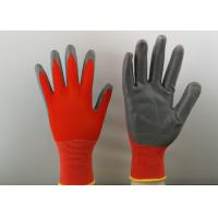 Wholesale 13 Gauge Nitrile Coated Gloves Super Light With Smooth Finished Nitrile from china suppliers