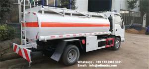 Wholesale Brand New Isuzu5cbm Fuel Dispenser Truck 5 ton Diesel Refueller Tanker Haiti for Sale from china suppliers
