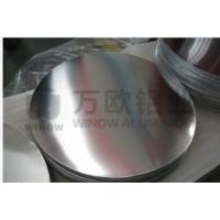 Wholesale Silver Round Metal Disk , 1050 H34 Aluminum Disk Blanks For Highway Road Sign from china suppliers