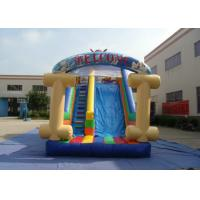 Wholesale Kids Bouncy Castle With Slide 8 X 4 X 4.5m , Customized Bouncy Castle Water Slide from china suppliers