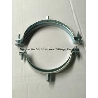 China Stainless Steel Tube Clamp Fittings , Wall Mount Pipe Alignment Clamp CE / ROHS / FCC on sale