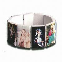 Wholesale Plastic Bead Religious Bracelet, Suitable for Gifts from china suppliers