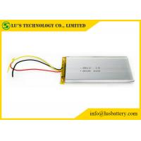 Wholesale High Capacity Lithium Polymer Battery 6800mah LP9550110 LI Ion batteries 3.7v rechargeable battery from china suppliers