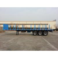 Wholesale 40 Foot Flatbed Semi Trailer / Platform Semi Trailer For Cargos And Containers from china suppliers