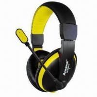 Buy cheap Wired Headphones with Microphones and 20Hz to 20kHz Frequency Response from wholesalers