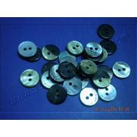 Wholesale Black MOP Shell Buttons 2 Holes from china suppliers