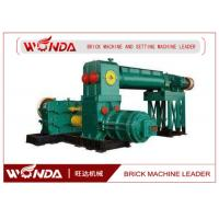 Wholesale Automatic Clay Brick Making Machine , Double Stage Brick Extrusion Machine Durable from china suppliers