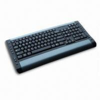 Wholesale Multimedia Computer Keyboard with Hot Keys, Soupports Microsoft Windows 98/2,000, Me, NT,XP/7 from china suppliers