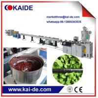 Wholesale HDPE Drip Laterial pipe production  machine  Emitting pipe machine supplier from China from china suppliers