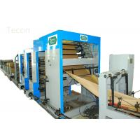 25T 33kw Bottomer Equipment for Automatic Paper Bag Making Machinery , Custom Color Printing