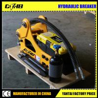 Buy cheap Soosan SB 50 Side type hydraulic hammer breaker for building construction from wholesalers