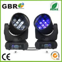 China 12*10W rgbw led bee eye moving head light,stage equipment manufacturer RGBW 12x10w bee eye led moving head beam ligh wholesale