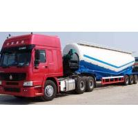 Wholesale Tri-axle bulk cement tanker trailer powder tank trailer on sale from china suppliers