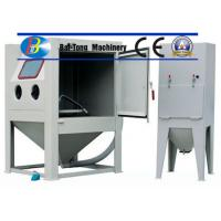 Wholesale CE Certified Sand Blasting Unit , Manual Sandblast Cabinet Customized Fixed Turntable from china suppliers