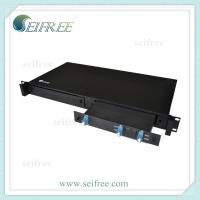 Wholesale 2 channels CWDM Mux Demux Module OADM with 19 1U Rack Box from china suppliers