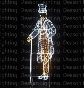 Wholesale outdoor christmas lighted decorations from china suppliers