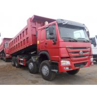 Wholesale Professional Heavy Duty Dump Truck 12 Wheeler Cubic Meter 8x4 Tipper Truck from china suppliers