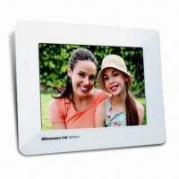 Wholesale Digital Photo Frame with 256MB Flash Memory and 8-inch LCD from china suppliers